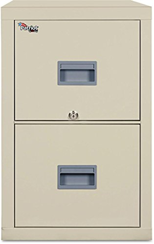 FireKing 2P1831CPA Patriot Insulated Two-Drawer Fire File, 17-3/4w x 31-5/8d x 27-3/4h, ()
