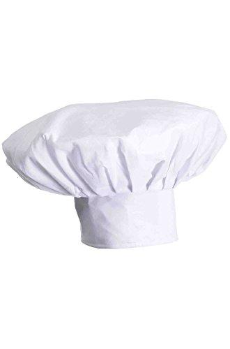 Forum Novelties Men's Deluxe Chef Hat, White, Deluxe