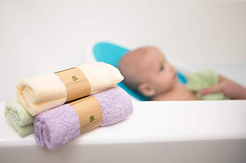 Bamboo Organic's Best 100% Viscone from Bamboo Baby Washcloths Soft Baby Wipes