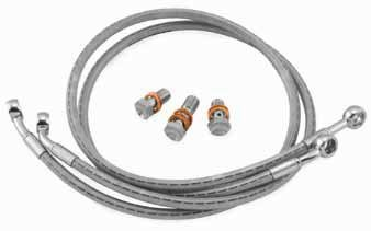 (Goodridge Sportbike Brake Line Kit KW2863-2FC)