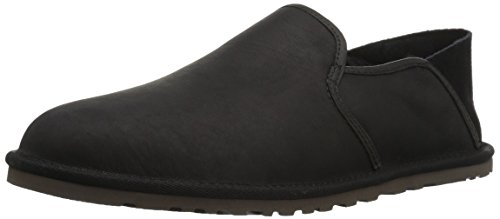 UGG Men's Cooke Slip-On Loafer, Black, 7 M US