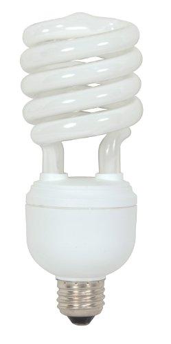 Satco S7333 32 Watt (125 Watt) 2000 Lumens Hi-Pro Spiral CFL Daylight White 5000K Medium Base 120 Volt Light Bulb