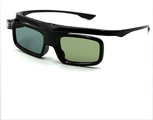 LYA Gafas 3D Active Shutter Glasses para Carga 3D De Obturación ...