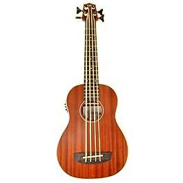 Hadean 30 inch Acoustic Electric Bass Ukulele UK-20 K BIND Mahogany Uke Basss