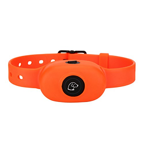 PEDONO DOG200 No Bark Stop Collar New Style Dog Anti Bark Collar Rechargeable Waterproof Bark Control Dog Electric Collar (Orange)