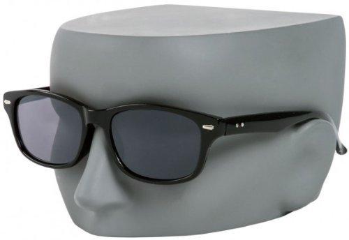 393030667c +2.00 Black Reading Sunglasses Tinted Sun Readers Flex Temples UV400 Tinted  Smoke Black Lens Mens Womens Retro Classic Glasses + I-Sential Hard Case ...