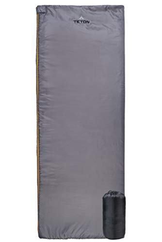 TETON Sports Outpost Rectangular Sleeping Bag; Perfect for Warm Weather Backpacking, Camping, and Sleepovers; Lightweight, 2-in-1 Sleeping Bag Becomes a Blanket; Wrap Up Outdoors by The Campfire [並行輸入品] B07R4TWHYP