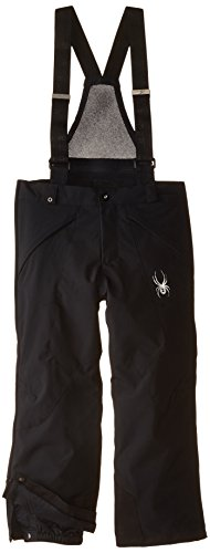 Spyder Boys Force Plus Pant, 12, Black by Spyder