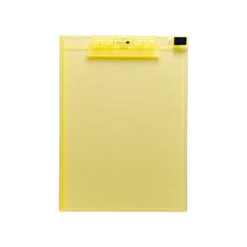 Lihit Lab Aqua Drops - Lihit Lab., Inc. clipboard Aqua Drops A5010-5 yellow