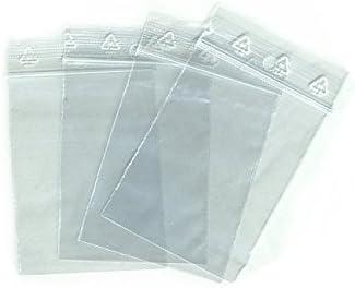 LOT 4 TAILLES DE PETIT SACHET ZIP 100 ex par Format Tailles 40 x 60//50 x 70//60 x 80//70 X 100 mm format = dimensions utile poche int/érieur du sachet zip