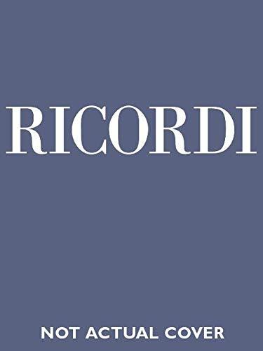 La Traviata Vocal Score Italian Paper