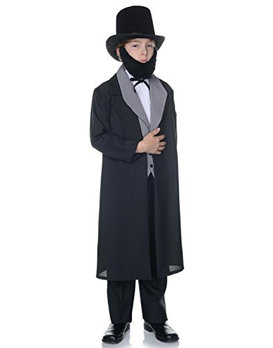 Abraham Lincoln Child Costume - Medium