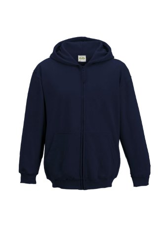 We All Capuche French Is Et Do Bleu Marine Enfants Éclair Fermeture De Navy new Sweat shirt Avec FqHqdrw