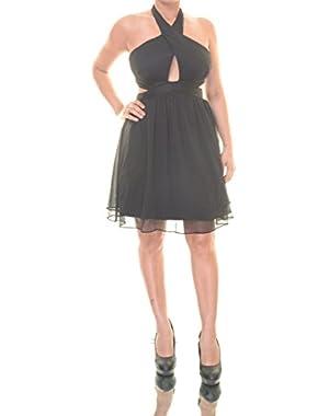 Guess Crisscross Halter Dress Size 8