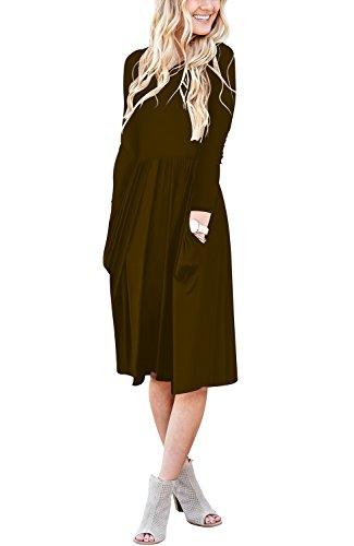 3/4 length dresses - 2