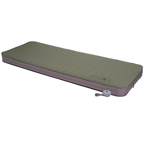 Exped Megamat 10 Insulated Self-Inflating Sleeping Pad, Green, Medium Wide (Insulated Van)