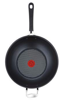 Jamie Oliver by Tefal Hard Anodised Non-Stick Induction Ready Wok - Large, 30cm