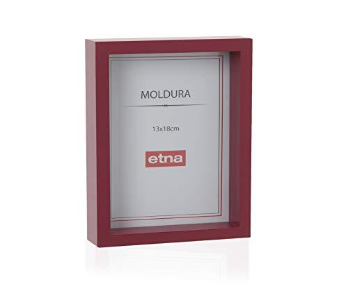 Porta Retrato Etna Vermelho 13X18X4cm