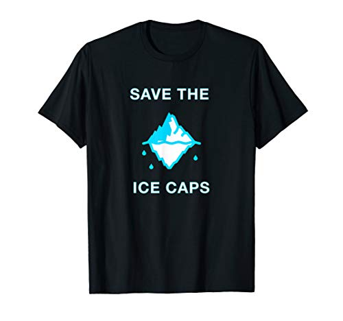 Save the Ice Caps Global Warming T-Shirt