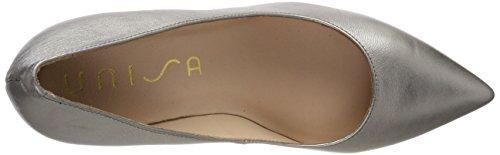 Unisa Mujer para de Zapatos Tacón Dorado Tegar lmt Steel YEqwPaYr
