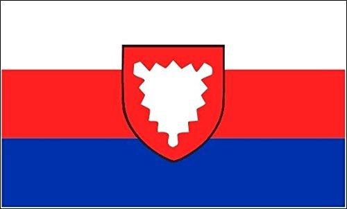 U24 Fahne Flagge Landkreis Schaumburg Bootsflagge Premiumqualit/ät 30 x 45 cm