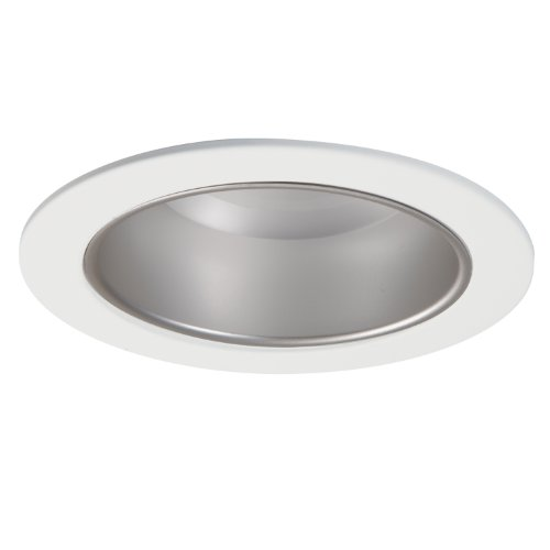 HALO Recessed 5020H 5-Inch Cone Trim with Haze Reflector, White (Haze Cone)
