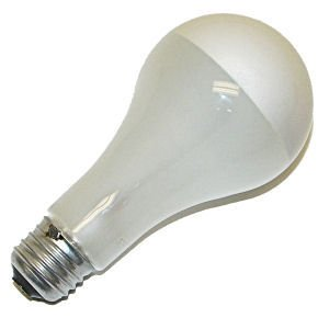 Silver Bowl Light Bulb: GE 20316 - 200/SBIF Silver Bowl Light Bulb,Lighting