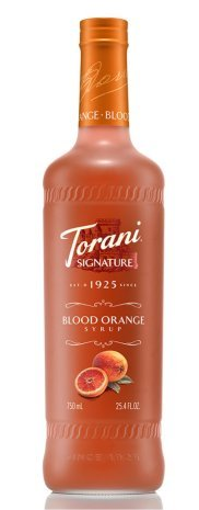 Torani Blood Orange Signature Syrup, 750 ml -