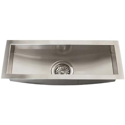 Ticor Royal Stainless Steel 16 Gauge Undermount Kitchen Bar Sink