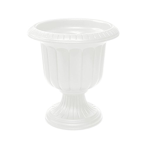 Classic Urn Planter, White, 19-Inch (Vases Urns And)