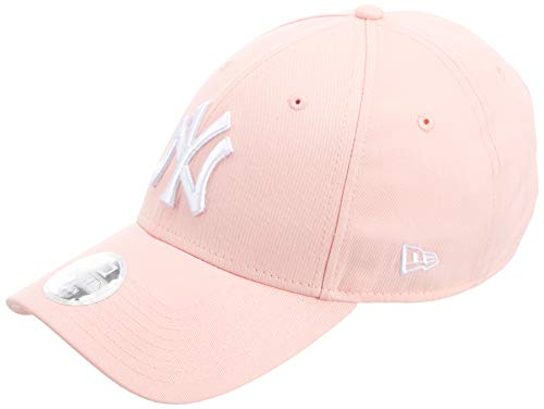 New Era 9forty New York Yankees Damen Kappe Rosa