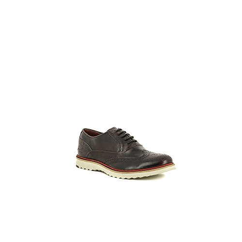 Bullboxer B719-K2-3586A Zapatos de cordones Hombre granate, EU 41