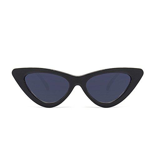 Wendyy Sunglasses, Cat Eye Sunglasses, Trendy Stylish Sunglasses (Schwarze Sonnenbrille Damen)