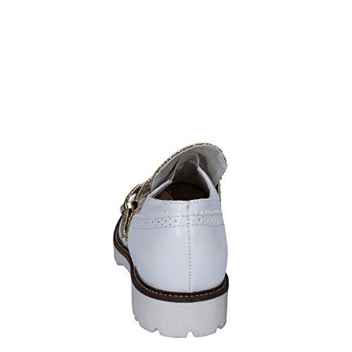 Donna 39 Bianco Pelle OLGA EU RUBINI Sintetica Oro Glitter Classiche PEwxqBtnUR