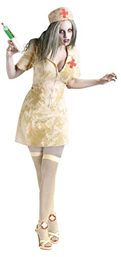 Fun World Women's Zombie Nurse, Multi, Medium/Large -