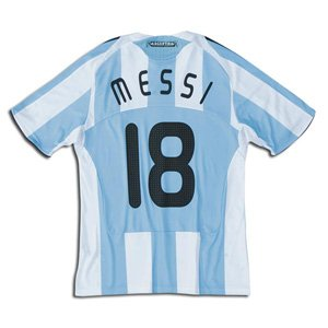 62a709d8d Image Unavailable. Image not available for. Color  Argentina National Team  08 10 MESSI  18 Home Soccer Jersey