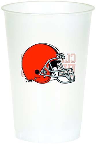 Creative Converting 8 Count Cleveland Browns Printed Plastic Cups