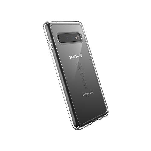 Speck Products GemShell Samsung Galaxy S10 Case, Clear/Clear (Tech Candy Phone Case)