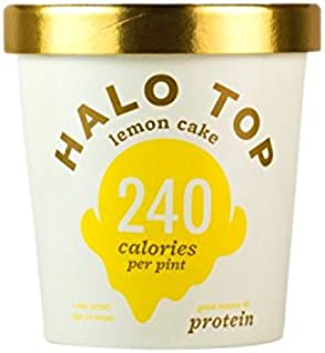 product image for Halo Top Lemon Cake Ice Cream,, 16 Ounce (Pack of 8)