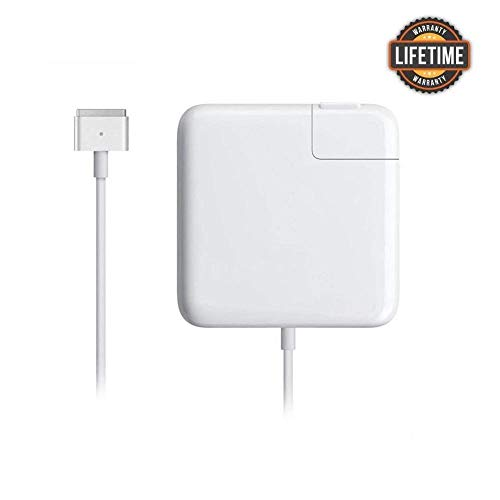 Compatible for MacBook Air Charger, Great Replacement 45W Magsafe 2 Magnetic T-Tip Power Adapter Charger for Apple MacBook Air 11-inch and 13-inch 45W MS 2 T-tip/T-Shape