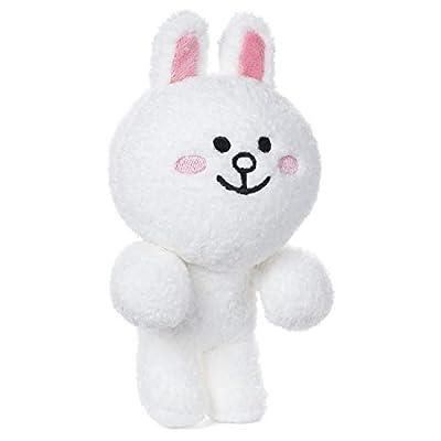 GUND LINE Friends Cony Dangler Hanging Plush Stuffed Animal Rabbit, White, 6