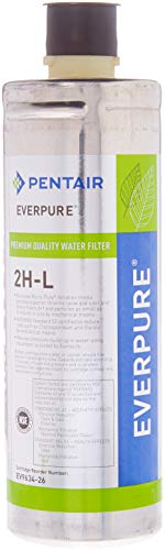 Everpure 2 Pack of 2H-L Water Filter Replacement (Federal Cartridge)