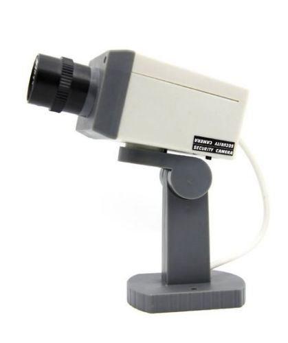 最安値級価格 Astakダミーセキュリティ監視カメラW/モーションセンサー& LED点滅ライト LED点滅ライト B00UC3X3NG B00UC3X3NG, イツワマチ:7fdcd864 --- a0267596.xsph.ru
