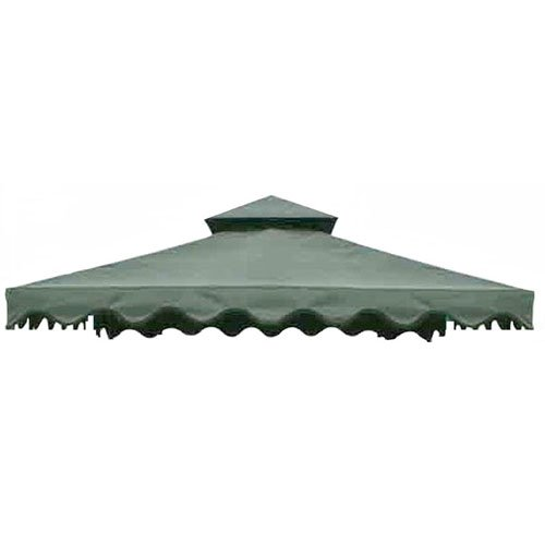 - Replacement Canopy for Walmart's DC America Gazebo - RipLock - Green
