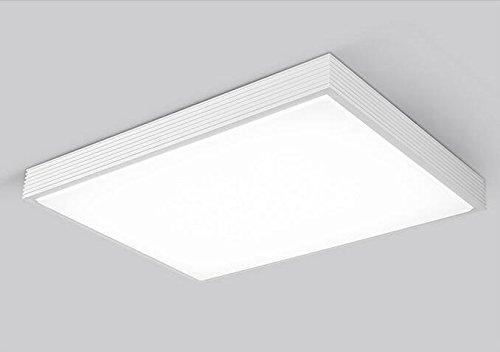TYDXSD LED techo lámpara rectangular de salón minimalista ...