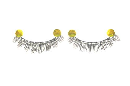 MapofBeauty 10 Pairs Thick and Long False Eyelashes Makeup Eye Lashes (Black-#14)
