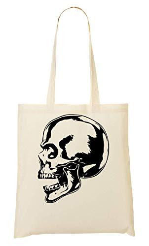 Bolso Artwork De Biker Skull Bolsa Mano Compra De La Cool Bw UxwTIAqHp