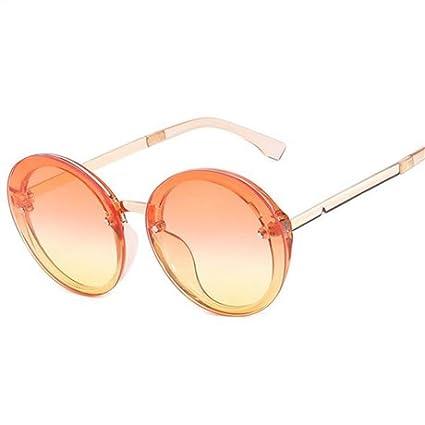 GGSSYY Gafas de Sol de Colores Candy Mujeres Gafas de Sol ...
