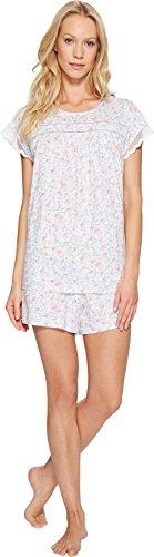 Carole Hochman Women's Cotton Jersey Short Boxer Pajama S...