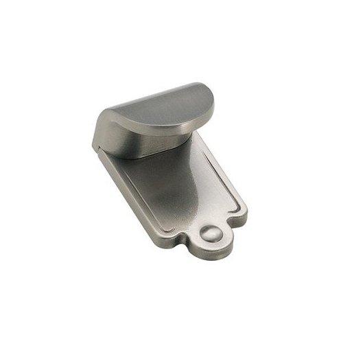 Amerock Inspirations Plain 1-7/8-Inch Wide Finger Pull, Satin Nickel ()